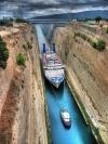 Ship In Canal